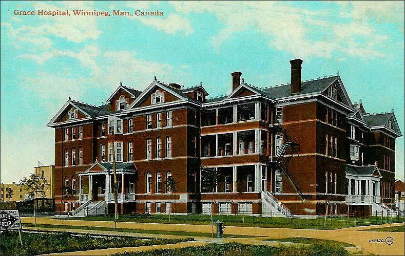 The original Grace Hospital.